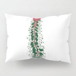 Mistletoe Tie Pillow Sham