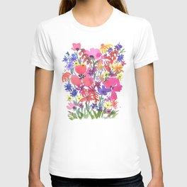 Little Pink Poppies T-shirt