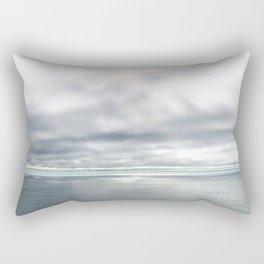 The Sea, Photograph of the Pacific Ocean Coast by Christie Olstad Rectangular Pillow