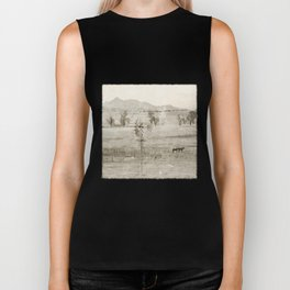 """Vintage Valley"" by Murray Bolesta! Biker Tank"