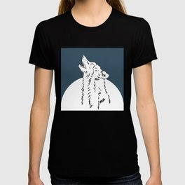 Pra Loup Howling Wolf T-shirt