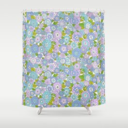 vintage 23 Shower Curtain