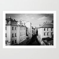 prague Art Prints featuring Prague by Alexandra Pandrea