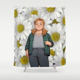 Dream Daddy: Daisy Shower Curtain