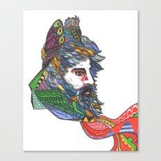 Craniate Canvas Print