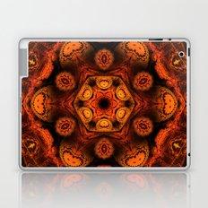 Burning jellyfish kaleidoscope Laptop & iPad Skin