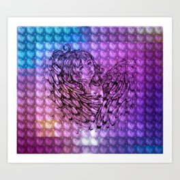 NV: Nakai: patterned Art Print