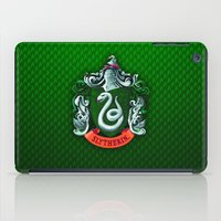 slytherin iPad Cases featuring SLYTHERIN  by Smart Friend
