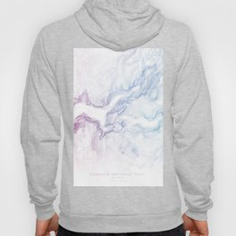 Yosemite National Park Half Dome Print Hoody