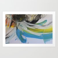 Space and colour 1 Art Print