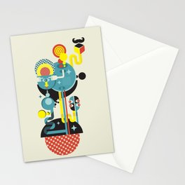Blue Monster. Stationery Cards