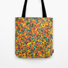 Panelscape: colours from Space Filler Tote Bag