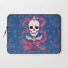 Moon Skull Laptop Sleeve