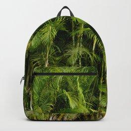 Palm tree jungle background - landscape photography Backpack
