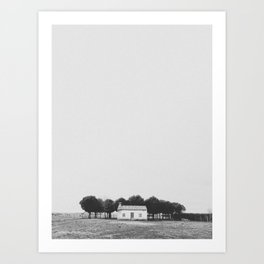 LITTLE HOUSE / El Perdigón, Spain Art Print
