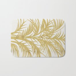Gold Palms Bath Mat