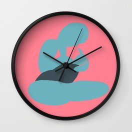 Mother and Child (Brights after Matisse) Wall Clock