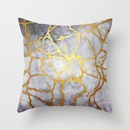 KINTSUGI  ::  Recognise Beauty Throw Pillow