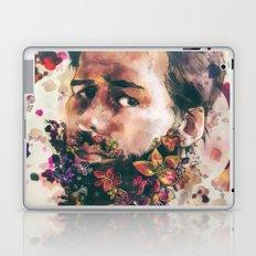 a beard of flowers Laptop & iPad Skin