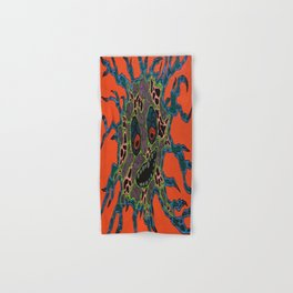 Amoeba Monster #4 Hand & Bath Towel