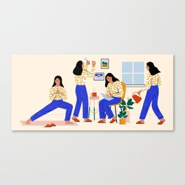 Smarter Living Canvas Print
