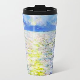 Glittering Sea Travel Mug