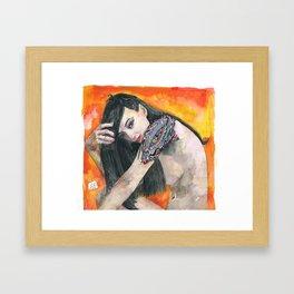 THE EYE OF THE DREAMER Framed Art Print