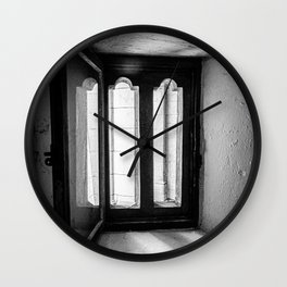 Old Window of St. Paul's Cathedral, London   Black & White Photography   Travel Photography   Photo  Wall Clock