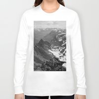 f1 Long Sleeve T-shirts featuring Archangel Valley by Kevin Russ