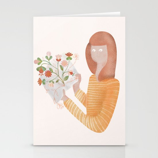 Wonders Of The World Stationery Cards