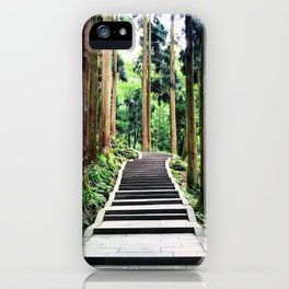 Begins with a simple step iPhone Case