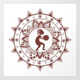 Kokopelli Art Print