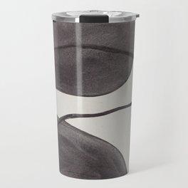 Charcoal Shapes Travel Mug
