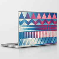 ice cream Laptop & iPad Skins featuring Ice Cream by acefecoo