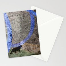 time makes u lonely Stationery Cards