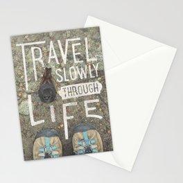 Travel Slowly Stationery Cards