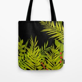 The leaves and berries. Tote Bag