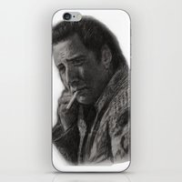 nicolas cage iPhone & iPod Skins featuring WILD AT HEART - NICOLAS CAGE by William Wong