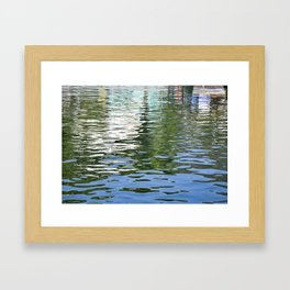 Colorful Reflections Abstract Framed Art Print