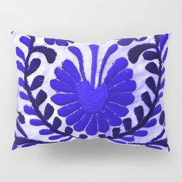 Strange Love Blue Pillow Sham