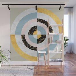 Gold Modern Art XX Wall Mural