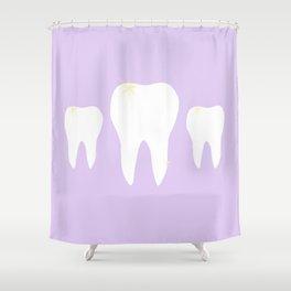 Les Dents Shower Curtain
