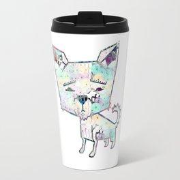 Cute tiny dog graphic Travel Mug