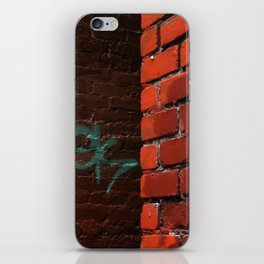 aqua iPhone Skin