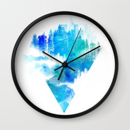 Escape from town Wall Clock
