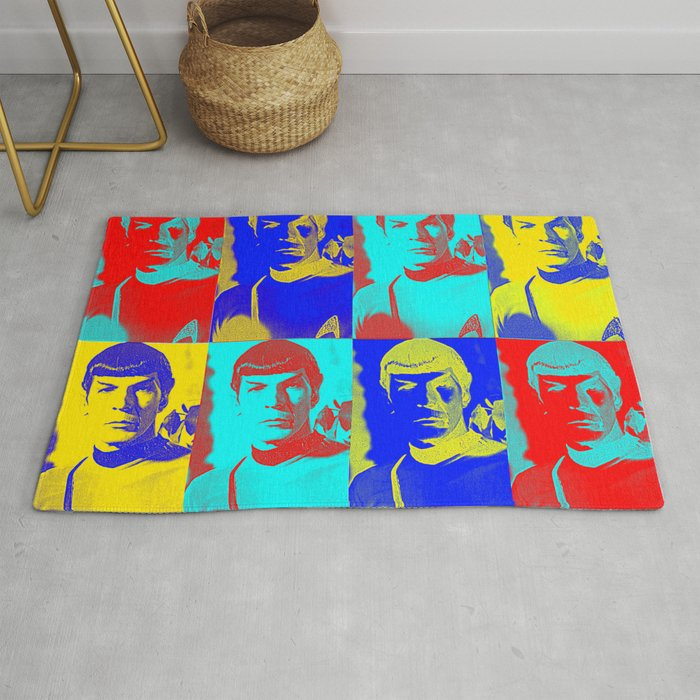 Science Officer Spock Andy Warhol