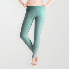 FADING AQUA Leggings