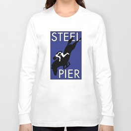 Atlantic City, NJ  Steel Pier Diving Horse Long Sleeve T-shirt