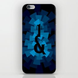 and the guitar iPhone Skin