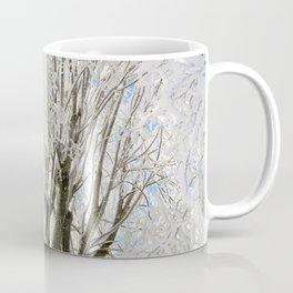 Icy Branches Coffee Mug